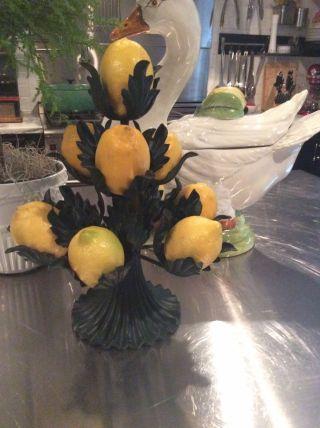 Vtg Petites Choses Lemon Stand Holder Display photo