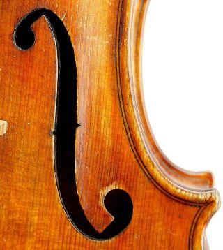 Outstanding Antique Boston American Violin By Giuseppe Martino/bryant Shop photo