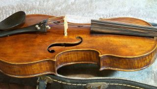 A Very Fine Old Violin Labeled Franciscus Gofriller. photo