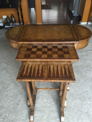 Maitland Smith Game Table - photo