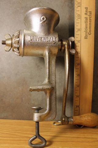 Vintage Universal Meat Grinder No.  2 photo