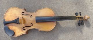 Antique Full Size Amati Model Violin To Play photo