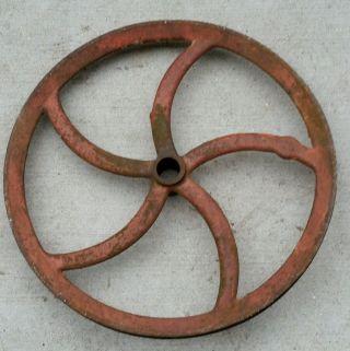 Antique Cast Iron Industrial Wheel / Flywheel 20
