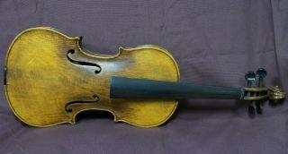 Old Violin C.  E.  Edwards Il 1912 photo