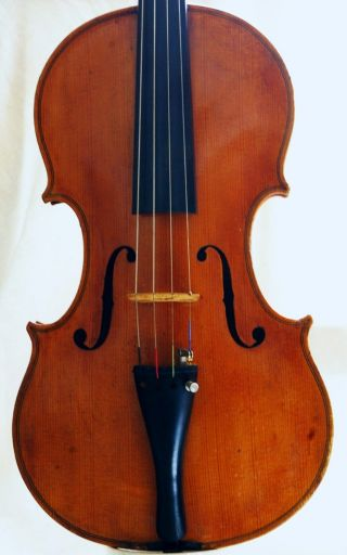 Interesting Antique French? Violin photo