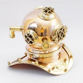 Collectible Brass Divers Diving Helmet - Deep Sea Divers Diving Helmet Replica photo