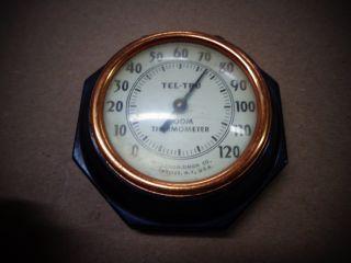 Old 1930 ' S Germanow - Simon Co Thermometer Tel - Tru photo