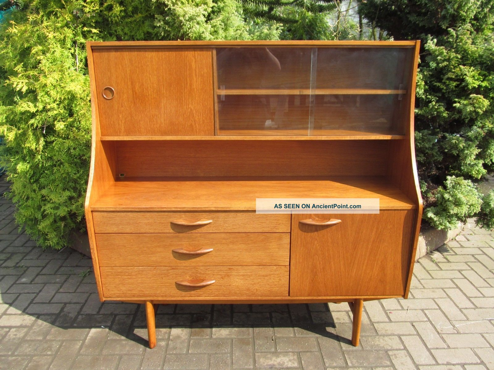 Mid - Modern Teak,  Danish 1960 ' S Teak Credenza,  Sideboard,  Highboard (b) Post-1950 photo