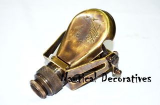 Antique Brass Travelling Monocular Telescope 4