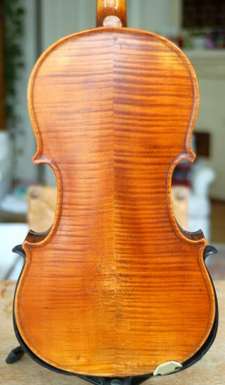 Fine Antique Handmade German 4/4 Fullsize Violin - About 120 Years Old photo