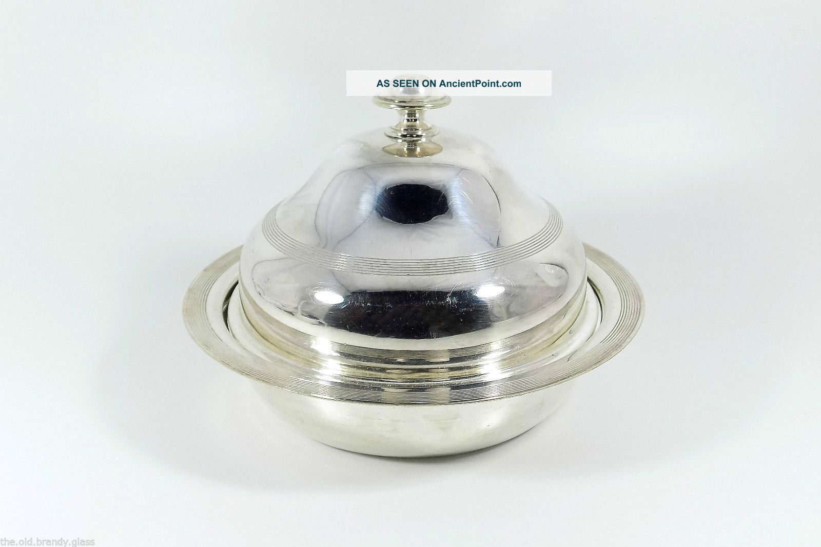 Antique Victorian Silver Plated Muffin Warmer (james Deakin & Sons,  C1890) Dishes & Coasters photo