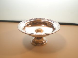 Wallace Sterling Silver Candy Compote Dish 203 photo