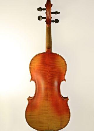 Antique Violin - Old 4/4 Antonius Stradivarius Early 1900 ' S Flamed Maple photo