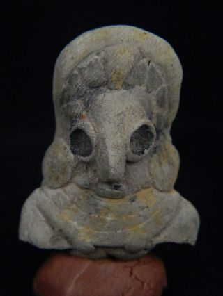 Ancient Teracotta Mother Goddess Torso Indus Valley 2000 Bc Tr15225 photo