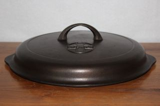 Griswold 1940 ' S Raised Button Logo No.  9 Self Basting Skillet Cover Lid photo