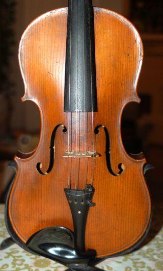 Antique Handmade 4/4 Master Violin From Hermann Dolling Jr.  1900/1920 photo