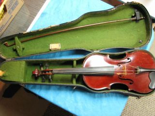 Vintage Estate Find Violin Labeled