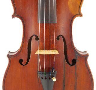 Rare,  Antique William Hamilton 4/4 Old Master Violin photo