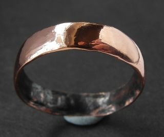 Medieval Bronze Wedding? Ring - Wearable - Something Old photo