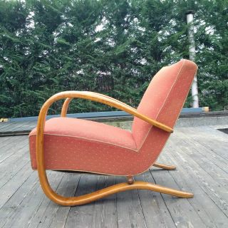 Halabala´s Armchair Model H - 269,  Art Deco Style,  First Half 20th Century photo