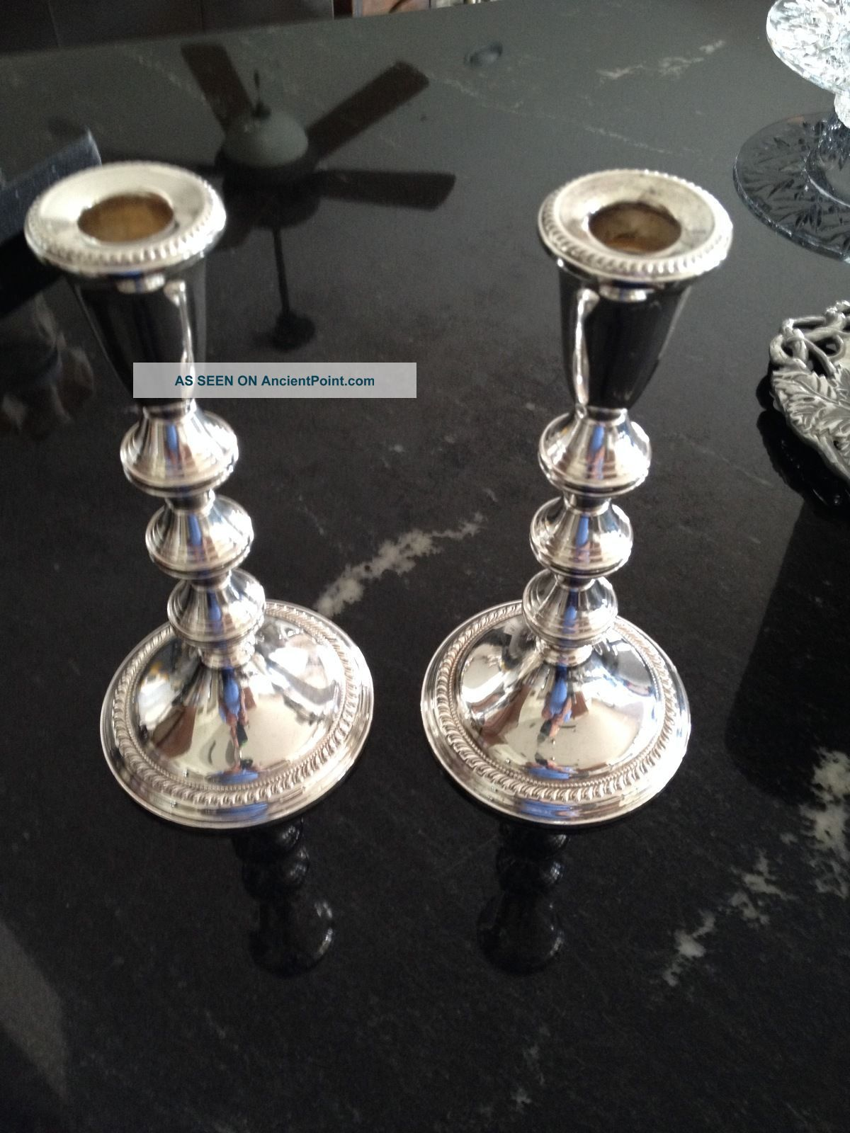 Sterling Silver Candlesticks Candlesticks & Candelabra photo