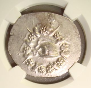 133 - 67 Bc Pergamum Ancient Greek Silver Cistophoric Tetradrachm Ngc Au 4/5 3/5 photo