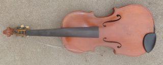 Fine Antique Czechoslovakia Violin Full Size Stradivarius Copy photo