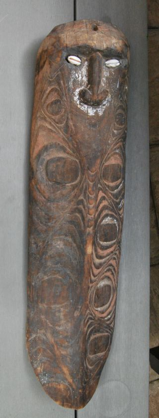 Old Guinea Carving photo