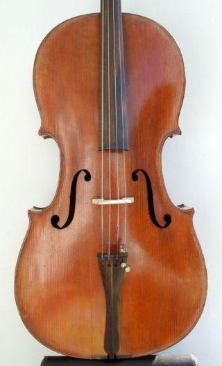 Vintage,  Antique German Cello,  Violoncello Around 1900 - Markneukirchen photo