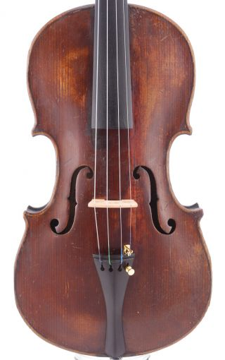 Karl Goll Fine,  Antique 4/4 Old Labeled Master Violin photo