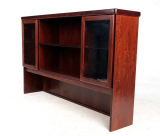 Retro Vintage Danish Rosewood Caibnet Kitchen Cabinet Bookcase Top Cupboard photo