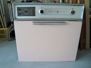 Vintage Wall Oven General Electric Pink Electric Wall Oven Very photo