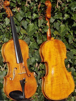 Handmade Vintage Czech Violin By Josef Tomasek,  1963.  Sound,  Fine Build photo