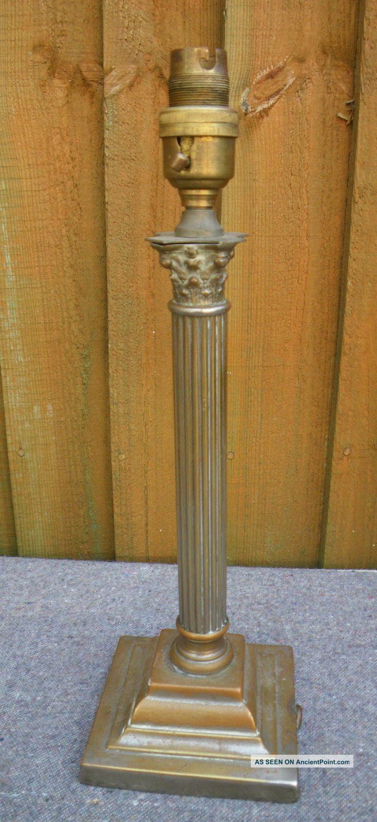 Antique Brass Corinthian 14