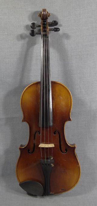 1731 Antonius Stradivarius Cremona Antique Italian Violin Fiddle 4/4 Instrument photo