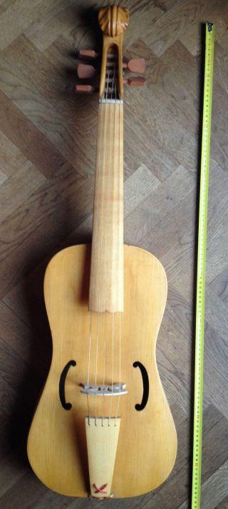 Medieval Bass Viella,  Fidula Medievale Fiddle Old Violin Viola Gamba Vielle photo