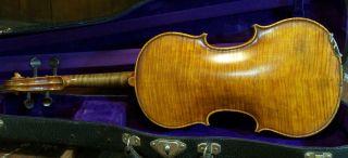 Old Antique Violin Labeled Giuseppe Fiorini 1897 photo