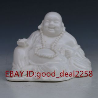 Chinese Porcelain Hand - Carved Buddha Statue photo
