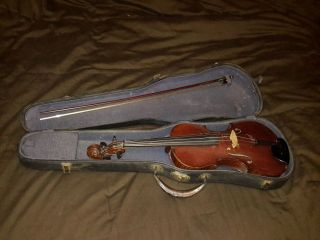 1893 Louis Lowendall Violin photo