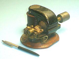 Unusual Little Antique Electric Motor Vtg photo