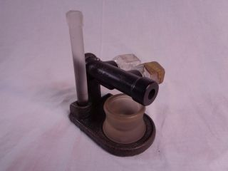Vtg Antique Baker Aristaloy Dental Mercury Amalgamator Mixer Mortar & Pestle photo