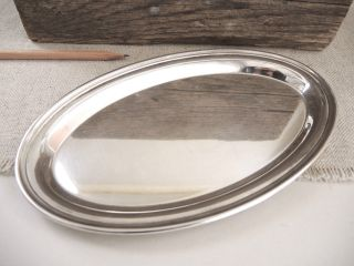 Gorham Sterling Silver Small Oval Tray 124 Platter Estate Vintage 150 G Vanity photo