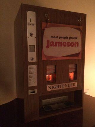Rare Vintage 1970 ' S Irish Whisky John Jameson Whiskey Vending Machine Dispenser photo