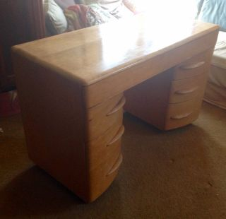 Heywood - Wakefield - Desk - Streamline - Art - Moderne - Mid - Century photo