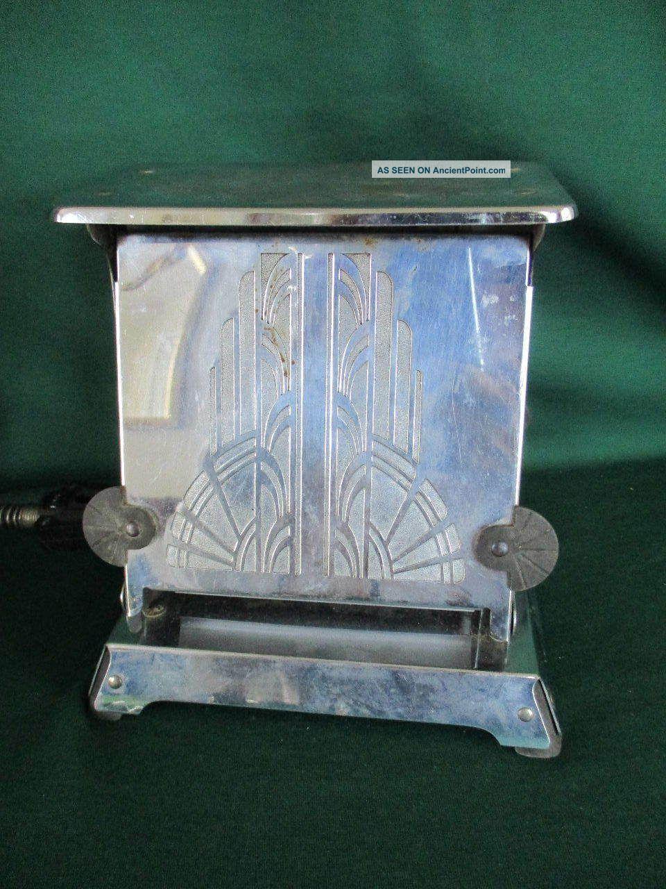 Vintage 1920 - 30 ' S Art Deco Era Westinghouse Turnover Toaster Great Ttc - 94 Toasters photo