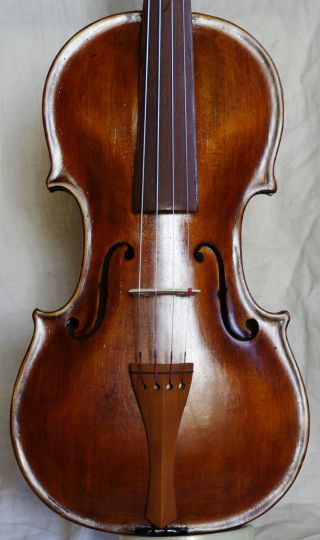 Antique Violin Labelled Jacobus Stainer 17. photo