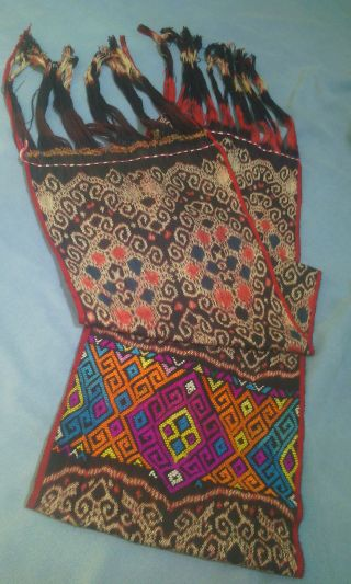 Indonesian Shawl Hand Woven From East Nusa Tenggara photo