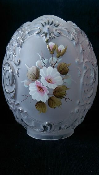Shade Oil Lamp Tulip Glass photo