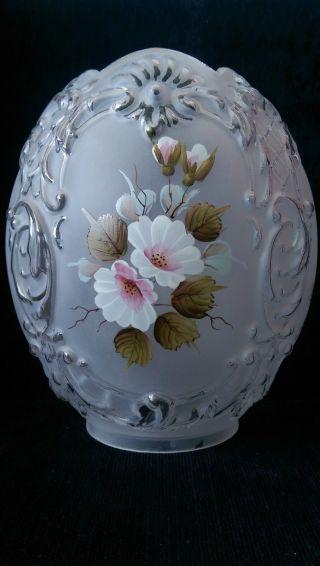 Shade Oil Lamp Tulip Glass photo