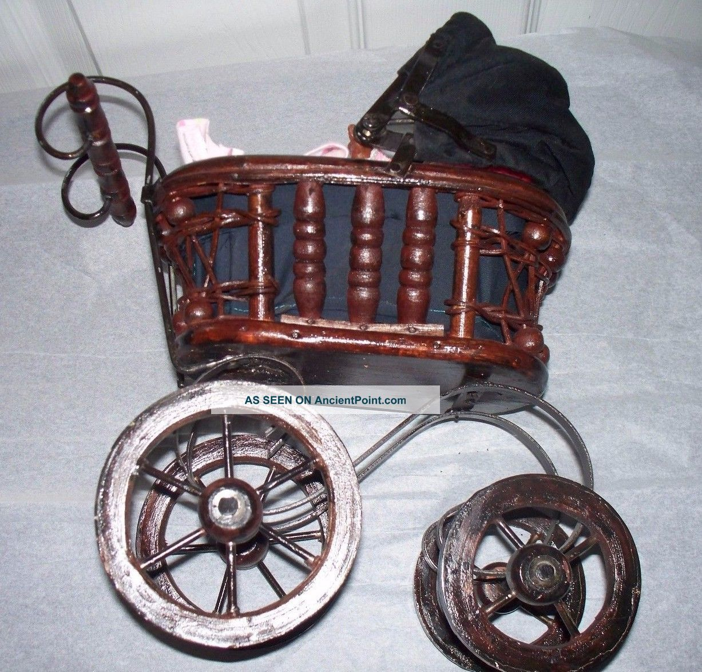 That Vintage decorative metal carriage